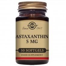 Astaxantina 5 mg | Solgar  | 30 cáps | Antioxidante - Antienvejecimiento