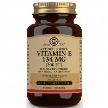Vitamina E caps. Vegetales | Solgar | 100 Cáps de 134 mgr | Antioxidante - Antiinflamatorio