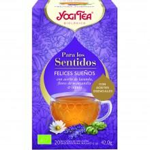 Yogi Tea| Felices Sueños | Nutrition & Santé | 20 bolsas| Manzanilla y Lúpulo - Relajante natural