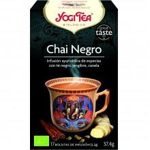 Yogi Tea| Chai Negro| Nutrition & Santé | 17 bolsas| Té Negro, Canela, Jengibre, anís, rooibos - Estimulante
