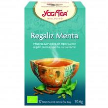 Yogi Tea| Regaliz Y Menta| Nutrition & Santé | 17 bolsas| Regaliz, Menta, Canela, Jengibre, Clavo - Satisfacción