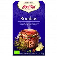 Yogi Tea| Rooibos| Nutrition & Santé | 17 bolsas| Albahaca, Rooibos, Canela, Jengibre, Cardamomo, Clavo, Pimienta - Vida