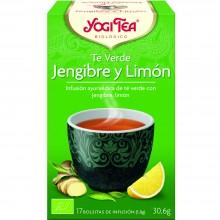 Yogi Tea| Jengibre y Limón| Nutrition & Santé | 17 bolsas| Jengibre, Limón, Regaliz y Pimienta - Reconfortante