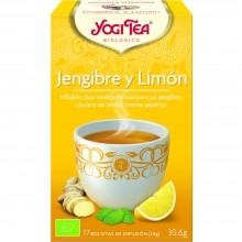 Yogi Tea| Jengibre y Limón| Nutrition & Santé | 17 bolsas| Jengibre, Limón, Regaliz dulce, Pimienta - Animar