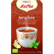 Yogi Tea| Jengibre | Nutrition & Santé | 17 bolsas| Jengibre, Limón, Regaliz dulce, Pimienta - Animar