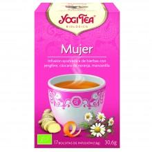 Yogi Tea| Mujer| Nutrition & Santé | 17 bolsas| Jengibre, Naranja, Raíz de Angélica - Creatividad y Equilibrio