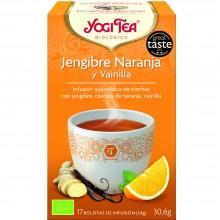 Yogi Tea| Jengibre, Naranja y Vainilla| Nutrition & Santé | 17 bolsas| Jengibre, Naranja y Vainilla - Animar