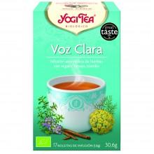 Yogi Tea| Voz Clara| Nutrition & Santé | 17 bolsas| Regaliz, Gordolobo, Canela, Naranja, Hinojo - Reconfortante