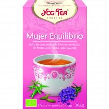 Yogi Tea| Mujer Equilibrio| Nutrition & Santé | 17 bolsas| Tomillo, Regaliz, Lavanda y Frambuesa - Equilibrio