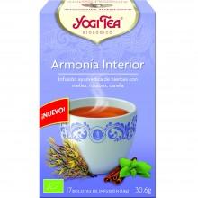 Yogi Tea| Armonía Interior| Nutrition & Santé | 17 bolsas| Melisa dulce, Lavanda y Canela - Relajante