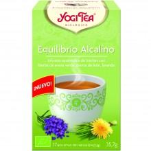 Yogi Tea| Equilibrio Alcalino| Nutrition & Santé | 17 bolsas| Avena verde, lavanda, diente de león - Alcalinizar