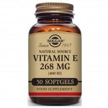 Vitamina E | Solgar | 50 Cáps de 268 mgr | Antioxidante - Antiinflamatorio