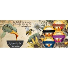 Royal-Vit Mega-Vit| Jalea Real | Nutrition & Santé | 20 dosis | 1500 mg con Reishi, Crocus sativus y Vitaminas - Fatiga