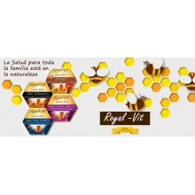 Royal-Vit Studio| Jalea Real | Nutrition & Santé | 20 dosis | 500 mg Jalea, Ácido pantoténico, Colina y fósforo  - Concentración