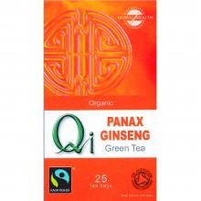 Qi - Té verde Chino con Ginseng BIO | Nutrition & Santé | 25 bolsitas| Té verde , Ginseng | Revitalizante & Diurético