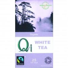 Qi - Té blanco BIO | Nutrition & Santé | 25 bolsitas| Té blanco 100%| Fatiga, Antioxidante & Diurético