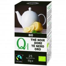 Qi - Té Negro Dorado en Hojas BIO| Nutrition & Santé | Hojas | Hojas de té Negro | Activador & Diurético