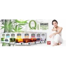 Qi - Té verde Chino con Menta ECO| Nutrition & Santé | 25 bolsitas | Té verde y Menta | Activador & Diurético
