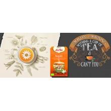 Yogi Tea| Regaliz| Nutrition & Santé | 17 bolsas| Regaliz, Jengibre, Vainilla, Naranja, Canela y Pimienta negra - Satisfacción