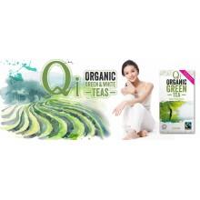 Qi - Té verde Chino Chun Mee BIO| Nutrition & Santé | Hojas | Hojas de té verde de Wuyuan | Activador & Diurético