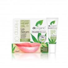 Suero Labial | dr. Organic | 10 ml | Con Aceite de Cáñamo Orgánico - 100% Bio