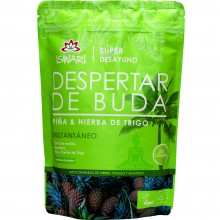 Despertar de Buda - Piña & Hierba Trigo Bio| Nutrition & Santé | 360g| Superalimentos, Almendras, Piña, Trigo | Superalimento