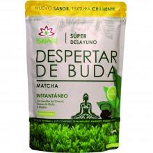 Despertar de Buda - Matcha Bio | Nutrition & Saté | 360g| Superalimentos, Harína de Plátano y Chufa, Matcha| Superalimento