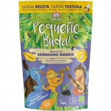 Pequeño Buda - Arándano Bio| Nutrition & Santé | 400g| Trigo Sarraceno, Chufa molida Arándano y Banana | Superalimento