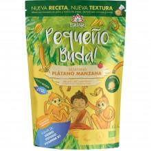 Pequeño Buda - Plátano & Manzana Bio| Nutrition & Santé | 400g| Trigo Sarraceno, Chufa molida Plátano y Manzana| Superalimento