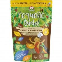 Pequeño Buda - Cacao & Algarroba Bio| Nutrition & Santé | 400g| Trigo Sarraceno, Chufa molida, Cacao y Algarroba| Superalimento