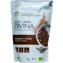 Avena Divina - Avellana, Cacao BIO| Nutrition & Santé | 360g | Avena, Avellana, Trigo Sarraceno, Cacao | Superalimento