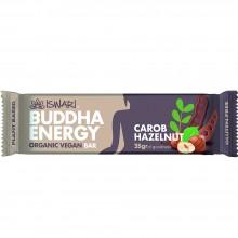 Buddha Energy - Algarroba & Avellana | Nutrition & Santé | 35g | Frutas, almendras, Trigo, Algarroba, Avellana | Superalimento