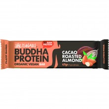 Buddha Protein - Cacao & Almendra Tostada | Nutrition & Santé | 35g | Dátiles, Proteina de Guisante y Arroz | Superalimento