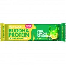 Buddha Protein - Chia, Limón & Spirulina | Nutrition & Santé | 35g | Dátiles, Proteina de Guisante y Arroz | Superalimento