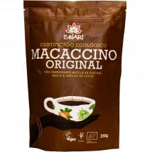 Macaccino Bio | Nutrition & Santé | 250g| Cacao Bio, Azucar de Coco y Maca| Superalimento