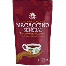 Macaccino Sensual Bio | Nutrition & Santé | 250g| Cacao Bio, Azucar de Coco, Maca, Gengibre, Cardamomo, Canela | Superalimento