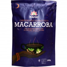 Macarroba Bio | Nutrition & Santé | 250g| Algarroba, Maca, Lucuma y Canela | Superalimento
