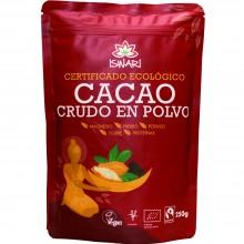 Cacao Bio Fairtrade| Nutrition & Santé | 250g | Cacao Ecológico en Polvo | Superalimento Nutritivo