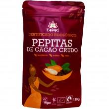 Pepitas de Cacao Bio Fairtrade| Nutrition & Santé | 125g | Cacao Ecológico en Pepitas| Superalimento Nutritivo