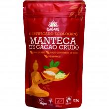 Manteca de Cacao Bio Fairtrade| Nutrition & Santé | 125g | Cacao Ecológico en Polvo | Superalimento Nutritivo