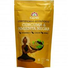 Cúrcuma & Pimienta Negra | Nutrition & Santé | 150g | Cúrcuma y Pimienta | Superalimento Digestión y Fatiga
