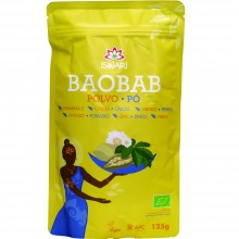 Baobab en Polvo Bio | Nutrition & Santé | 125g | Pulpa de Baobab en polvo | Superalimento Digestión y Sistema Inmunitario