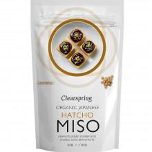 ClearSpring - Hatcho Miso en Bolsa (no pasteurizado) | Nutrition & Santé | 300g | Soja, Sal Marina, Cebada | Best Of Japan
