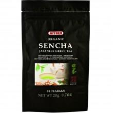 Mitoku Macrobiotic - Té Verde Sencha | Nutrition & Santé | 10 bolsitas | Té Verde | Antioxidante, Diurético | Best Of Japan