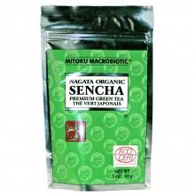Mitoku Macrobiotic - Té Verde Sencha Granel | Nutrition & Santé | 85g | Té Verde | Antioxidante, Diurético | Best Of Japan