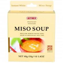 Mitoku Macrobiotic - Sopa de Miso y Tofu | Nutrition & Santé |4 servicios | Miso, Cebolleta, Tofu | Best Of Japan