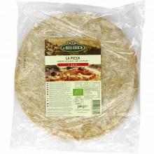 Bio Idea - Base de Pizza | Nutrition & Santé | 300g | Harina de Trigo Integral y Levadura | Panadería