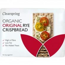 ClearSpring - Knackebrod   Nutrition & Santé   200g   Harina Centeno, Harina Integral de Centeno   Panadería