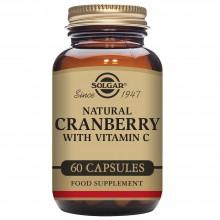 Arándano Rojo con Vitamina C  | Solgar | 60 Cáps de 460 mgr. | Infecciones Urinarias - Antioxidante
