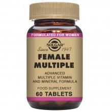Female Múltiple  | Solgar | 60 Comps de 1363 mgr. | Fertilidad - Cansancio
